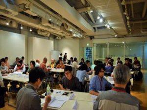 【ヨコハマアートサイト・キックオフ・ミーティグ】 会場:YCCヨコハマ創造都市センター3F 日程:2017年5月27日